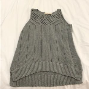 Michael Kors knit crochet tank top